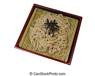 Soba-traditional Japanese noodle