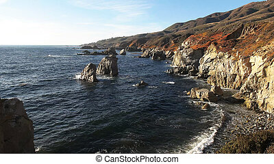 soberanes point on the california coast in big sur