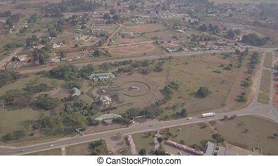 sobhuza, gedenkteken, eswatini, koning, parlement, park, ...