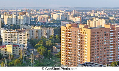 sobre, kharkiv, ukraine., ciudad