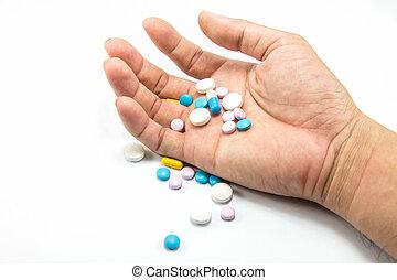 sobredosis, toma, droga
