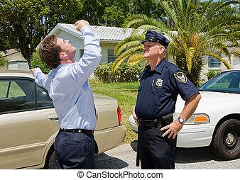 Sobriety Test - Skeptical - Police officer is skeptical that...
