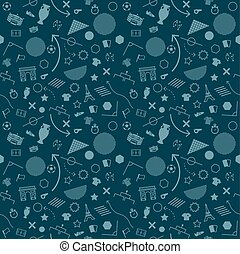 Soccer Abstract background soccer pattern 2016 Football. Vector Illustration,seamless