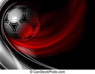 Soccer background - background for poster, booklet,...