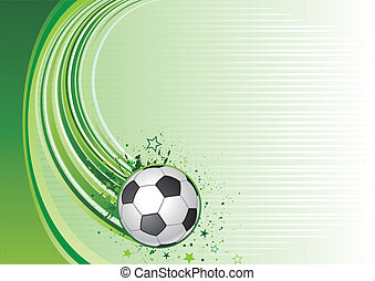 soccer background - vector background of soccer sport