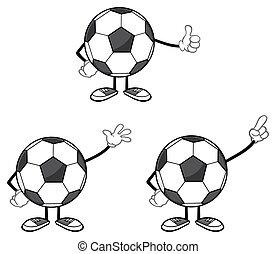 Soccer Ball Faceless Collection - 5