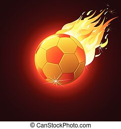 Soccer Ball Fireball