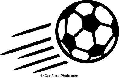 Soccer Ball Flying