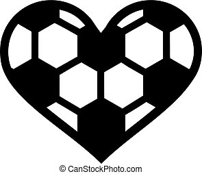 Soccer Ball Heart