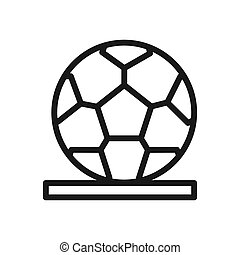 soccer ball illustration design