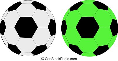 soccer ball in vector