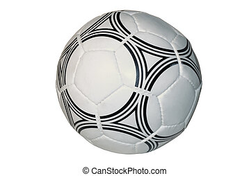 soccer ball, isolated on a white background