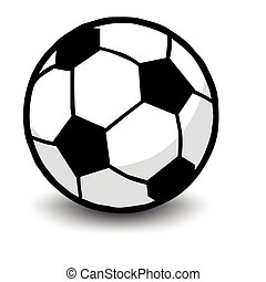 Soccer ball isolated on white - soccer ball isolated on ...