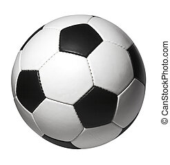 Soccer ball - Isolated soccer ball with clipping path