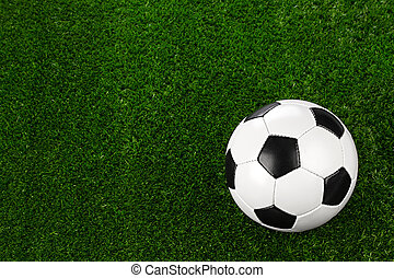 soccer ball on grass II