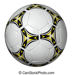 Soccer Ball - Soccer ball isolated over a white background