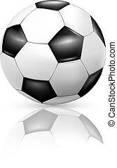 Soccer-ball, vector