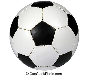 Soccer Ball with Clipping Path (Game used Ball)
