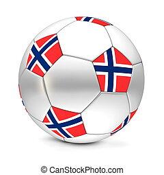 Soccer Ball/Football Norway - shiny football/soccer ball...