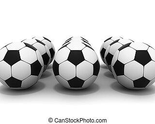 soccer balls - series soccer ball 3d image