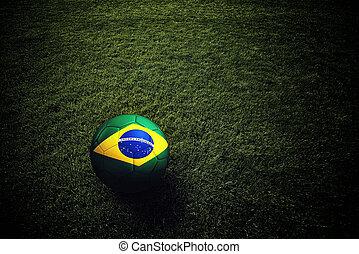 soccer bold, hos, flag brasilien