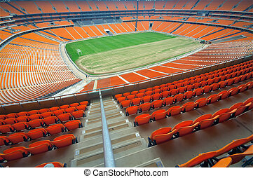 Soccer City, johannesburg - South africa will host the 2010 ...