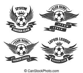 Soccer Club Emblem Set