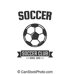 Soccer Club Logo Template Vector Sport Emblem