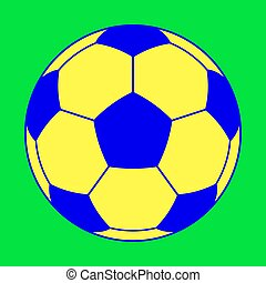 Soccer color ball