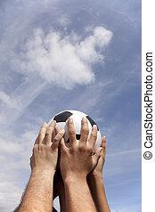 Soccer cup winner