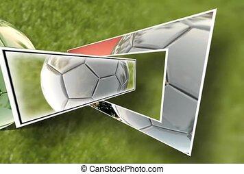 Soccer Cutout