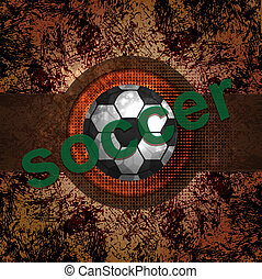 Soccer design background