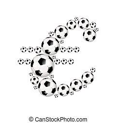 Soccer Euro illustration icon