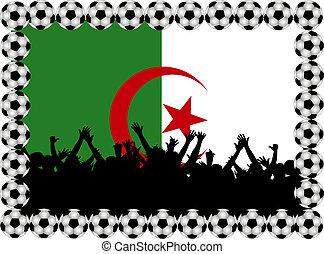 Soccer fans Algeria