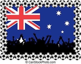 Soccer fans Australia