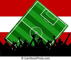 soccer fans austria