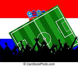 soccer fans croatia