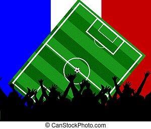 soccer fans france
