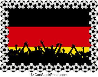 Soccer fans Germany