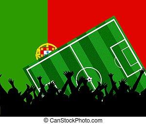 soccer fans portugal