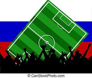 soccer fans russia
