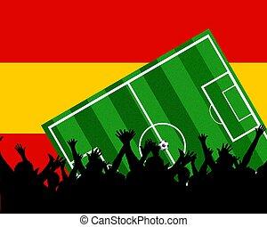 soccer fans spain