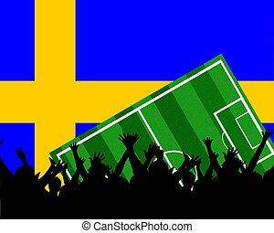 soccer fans sweden