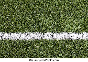 soccer felt, græs