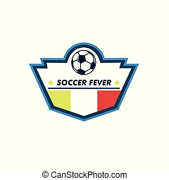 Soccer Fever Unique Shield Footbal Club Emblem