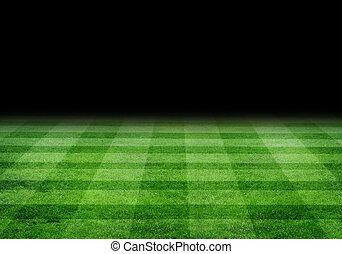 soccer field - green soccer field
