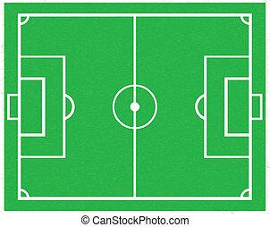 Soccer field .vector,eps10