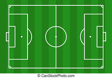 Soccer field- view from above