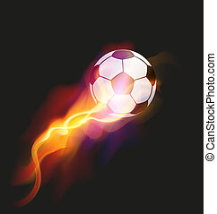 Soccer Fire Ball