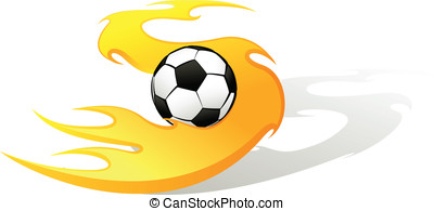 Soccer Flame S with Ball